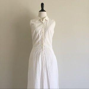 April Cornell // Eyelet Maxi Dress